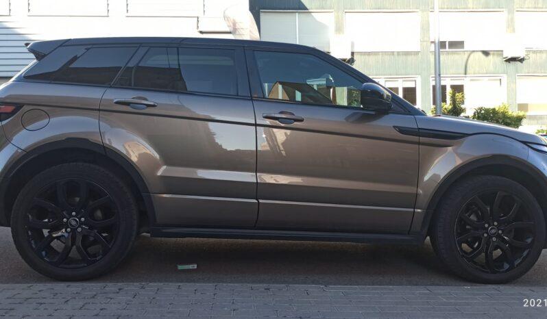 Range Rover Evoque SD4 Dynamic full